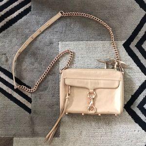 Rebecca Minkoff MAC purse. Tan/nude